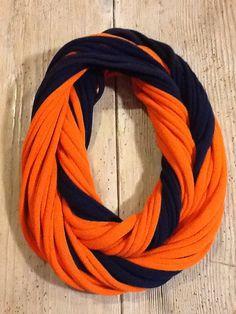 Syracuse University Orange Men    - Infinity T Shirt Scarf Belt