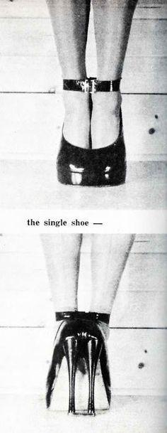 fetish shoe c.1940's