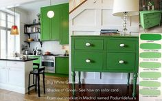 How to Mix Antibes Chalk Paint®paint by Annie Sloan With Old White