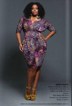 Plus Size Women Dresses Plus Size Fall Fashion, Autumn Fashion, Plus Fashion, Fashion Spring, Fashion Stores, Catalog Fashion, Fashion Night, Purple Plus Size Dresses, Plus Size Outfits