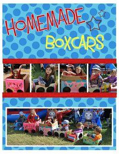 Homemade Box Cars