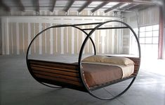 are ya kidding me? What a dream bed...won't be long til you see them everywhere! That's what happens when a phenomenal idea comes to fruition. - Upcycled Industrial Furniture