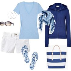 Cute summer on the go outfit :)