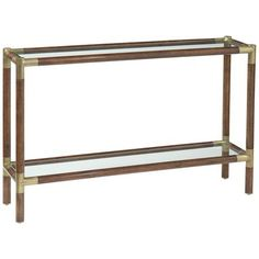 EMERSON BENTLEY - Style: 13022 - Sophisticate Console Table Overall Dimensions: 49 x 12 x 32H