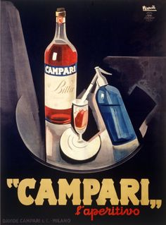 Leonetto Cappiello Marcello Nizzoli Campari print for sale. Shop for Leonetto Cappiello Marcello Nizzoli Campari painting and frame at discount price, ships in 24 hours. Vintage Italian Posters, Pub Vintage, Vintage Advertising Posters, Vintage Advertisements, Vintage Food, Vintage Style, Retro Poster, Poster Ads, Poster Prints