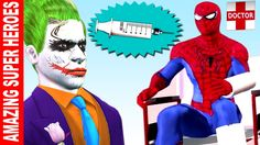 Funny Spiderman Pranks with Joker | Superheroes Pranks | Hulk Finger Fam...