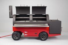 Yoder Frontiersman Smoker Cart | GuyMaven.com
