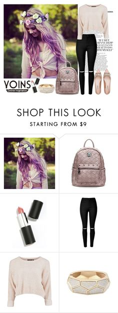 """""""Pale pink yoins"""" by diva1 ❤ liked on Polyvore featuring Sigma Beauty, Miu Miu, contest, yoins and yoinscollection"""