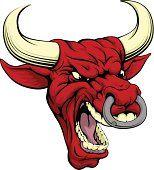 Red bull mascot