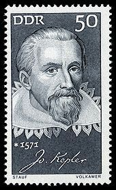 Johannes Kepler (December 27, 1571 – November 15, 1630) was a German mathematician, astronomer and astrologer. A key figure in the 17th century scientific revolution, he is best known for his eponymous laws of planetary motion, codified by later astronomers, based on his works Astronomia nova, Harmonices Mundi, and Epitome of Copernican Astronomy. These works also provided one of the foundations for Isaac Newton's theory of universal gravitation.
