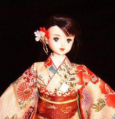 Jenny doll by Takara in OOAK kimono