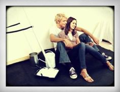 austin and ally on set