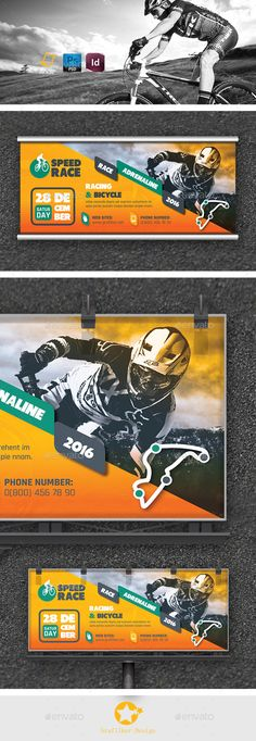 Bicycle Racing Billboard Design Tempalte Download: http://graphicriver.net/item/bicycle-racing-billboard-templates/12945490?ref=ksioks