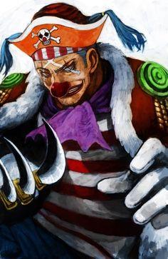 Buggy,Shichibukai - One Piece,Anime