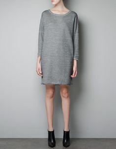 BASIC VELOUR DRESS - Dresses - Woman - ZARA United States