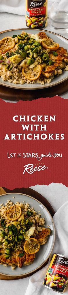 Turkey Recipes, Meat Recipes, Cooking Recipes, Healthy Recipes, Artichoke Recipes, Baked Artichoke, Artichoke Chicken, Different Chicken Recipes, Hair