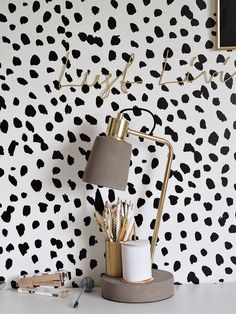 home wallpaper Dalmatian Print Wallpaper - home Office Wallpaper, Print Wallpaper, Home Wallpaper, Paper Wallpaper, Spotted Wallpaper, Wallpaper For Walls, Interior Wallpaper, Feature Wallpaper, Wallpaper Designs