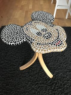 """Coffe table """"Mickey Mouseaic"""" Mickey mouse DIY"""