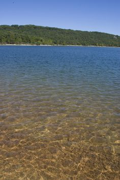 Table rock lake water so crystal clear you can see your toes!