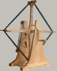 Michael Williams wool winder with counter