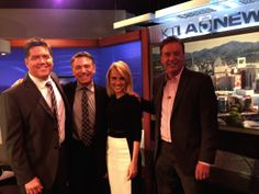 Joe with the whole KTLA Morning News team.