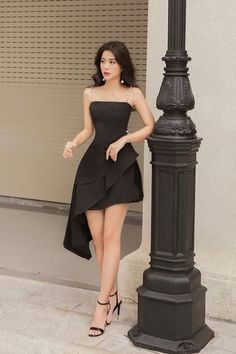 Ulzzang Fashion, Kpop Fashion Outfits, Girl Fashion, Fashion Dresses, Elegant Outfit, Classy Dress, Classy Outfits, Ball Dresses, Ball Gowns