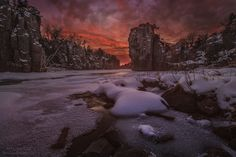 Red Sky, King Rock - HomeGroenPhotography.com