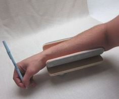 Arm glider upper extremity support