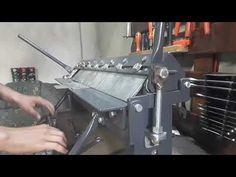 Metal Projects, Welding Projects, Homemade Tools, Diy Tools, Sheet Metal Brake, Metal Fabrication Tools, Welder Shirts, Press Brake, Espresso Machine