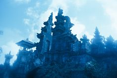 Gates of Pura Besakih, an ancient temple at the base of Mt. Agung in Bali.  ©Will & Deni McIntyre