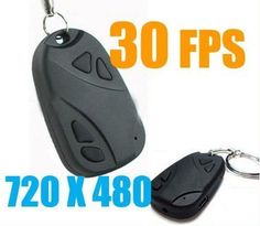 Mini Video Hidden Car Key Camera Dvr Car Key Chain Camera by BBQbuy. $9.99. Specification:     ?It has a function of taking picture, voice video recorder ... amazing goods....  ? Format: AVI video format 720x480  ? 30frame/sec,Video, audio sync. Photograph Dimension: 1.3 million   ?USB functionsupport TF card from 1GB to 8GB(TF CARD NOT INCLUDED) ? stadard  USB 2.0 interface,no need dirver except for windows 98  ? Economic and parctical:high capacity lithium battery...