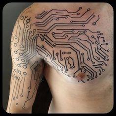Circuitry tattoo google search tattoos pinterest for Georgie williams tattoo