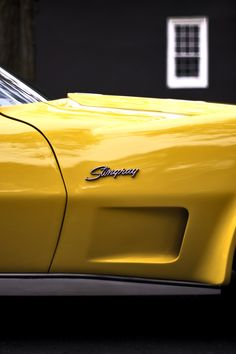 Yellow Corvette in Memory of my Dad! Any color actually as long as its a stingray corvette