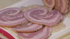 Praktyka u Praktyka - Szynkowar - Rolada z Boczku Home Made Sausage, Charcuterie, Food And Drink, Lunch, Fish, Homemade, Meat, Baking, Dinners