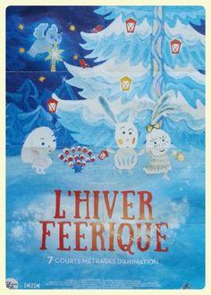 """7 dessins animés pour enfants """"L'hiver féérique"""""""