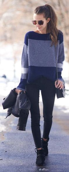 Shades Of Blue Outfit by Something Navy