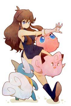 Blue (Pokémon Special) Fan Art: Blue Pokemon full 529178