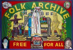 Alan Kane and Jeremy Deller 'Folk Archive Banner by Ed Hall' 2005