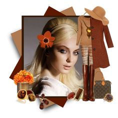 """Browny"" by rozelle on Polyvore"
