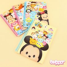 Tsum Tsum Coil Notebook | Blippo Kawaii Shop