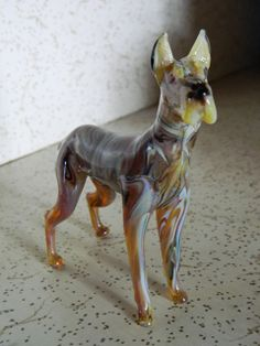 Great Dane (Hand Crafted, Glassblowing, Lampworking)