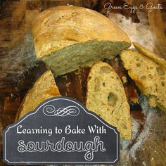 Learning to bake with sourdough has always intimidated me.  Maybe there's hope yet!