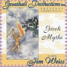 Greek Myths - audiobook CD by Jim Weiss is an award-winning collection of four classic stories from Greek mythology for listeners of all ages. Follow the adventures of Perseus, Hercules, King Midas and Arachne!