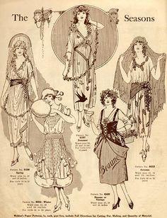 Costumes Edwardian..