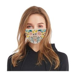 Shop - PremiumFluMasks Mouth Mask, Eyebrows, Cotton Fabric, Floral Prints, August 8, July 31, Cover, Face, Beauty