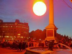 Streetplanneur >> Tropicana recréé un soleil en plein Londres