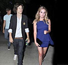 harry styles and ashley benson gif - Google Search