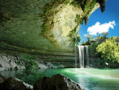 Hamilton Pool Nature Reserve in Texas