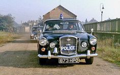 This is The Wolseley 6/99, a classic Police car. This was the final large Wolseley car. This marvelous vehicle remained in production as the Wolseley 6/110 through to 1968. Law Enforcement Officers appreciates this car as was stated on several occasions.