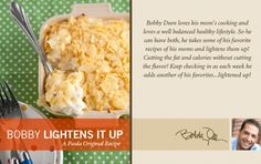 Bobby's Lighter Creamy Hash Brown Casserole
